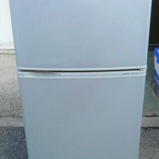 ☆ハイアール Haier AQUA AQR-111A 109L 2ドアノンフロン冷凍冷蔵庫◆省エネ・静音化設計の画像