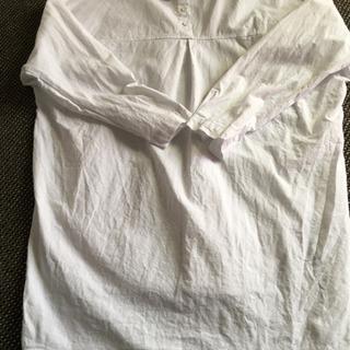 ロングリネンシャツ(チュニック)