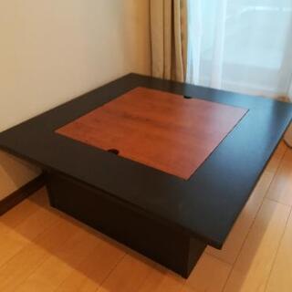 【値下げ】収納付きローテーブル