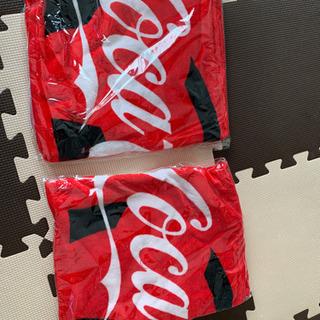 コカコーラフード付きタオル2枚セット