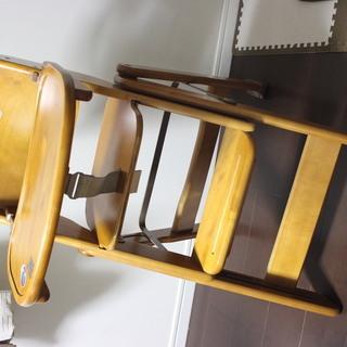 ダイニング用幼児椅子