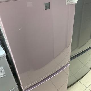 SHARP SJ-14E4-KP 137L 冷凍冷蔵庫 2…