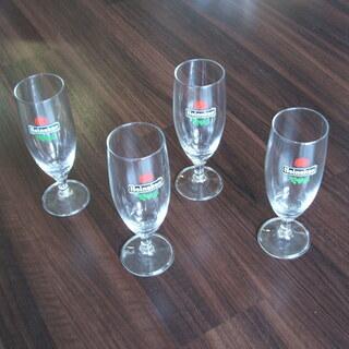 ハイネケン・ビールグラス 4個