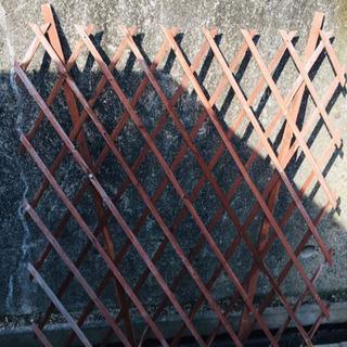 ガーデニング用の柵