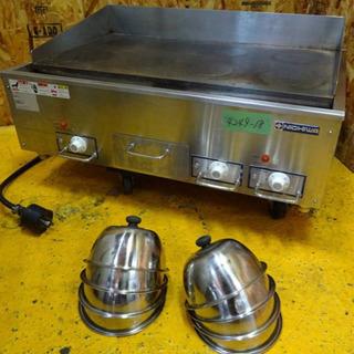 (4249-18)☆厨房機器☆ニチワ/電気グリドル/業務用/店舗...