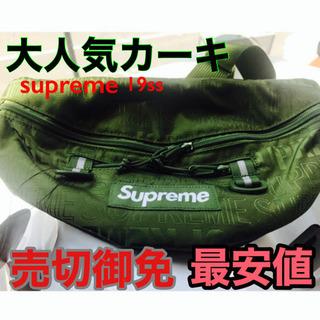 supreme 19ss waist bag ウエストポーチ オリーブ