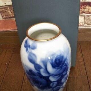 アンティーク OKURA CHINA.INC 花瓶