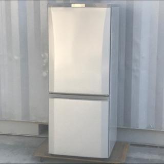 格安で!三菱 冷蔵庫◇146L◇2017年製◇シルバー◇MR-P...