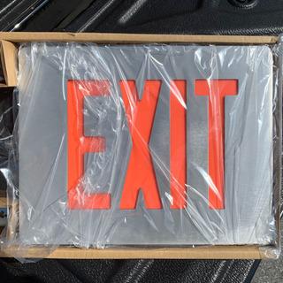 アメリカ製 EXIT 非常灯 米軍放出