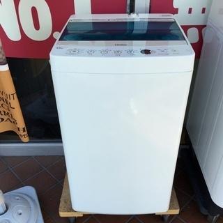 ハイアール 4.5kg 全自動洗濯機 ホワイトHaier JW-...