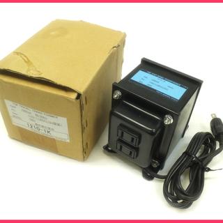 [K0525L] 美品 東京ゼネラル工業 変圧器 ステップダウン...