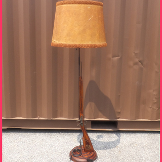 [K0802AY] ライフル フロアスタンド 照明 インテリア照明