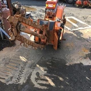 芋掘り機 溝掘り 農機 ディーゼルエンジン セル付き