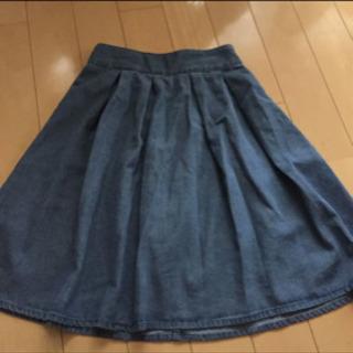 GU デニムスカート Mサイズ