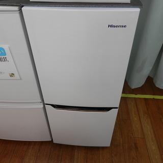 ハイセンス 130L 2ドア冷蔵庫 HR-D1301 2016年...