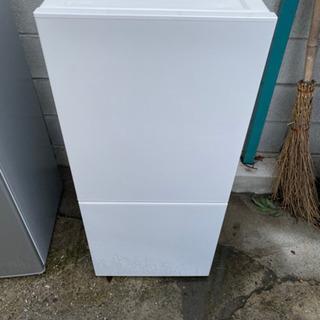 【美品】2018年製ツインバード2ドア冷凍冷蔵庫110L
