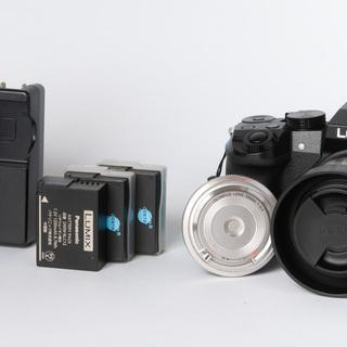 パナソニック ルミックス DMC-G7 レンズ2本 バッテリー3本付き