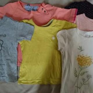 無印良品、サニーランドスケープ 他  Tシャツ 6枚セット…