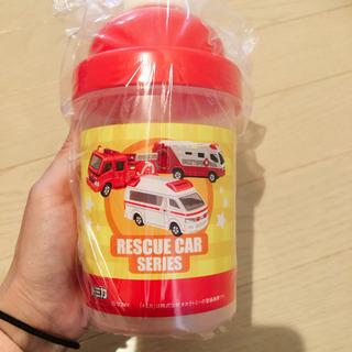 消防車 水筒 ストローマグ