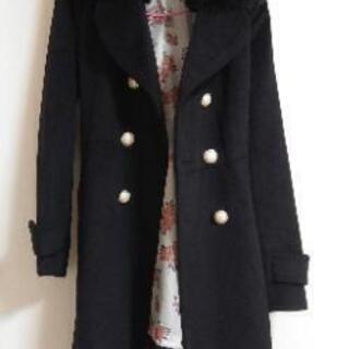 未使用 黒のコート