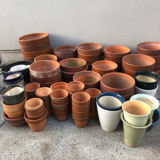 園芸品・植木鉢・プランター・底敷き・鉢植え皿などまとめ売り