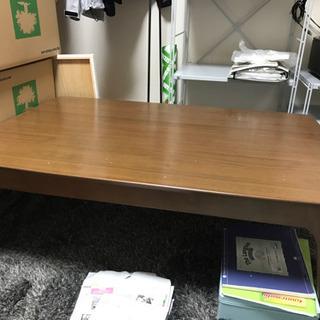 【急募11/2〜3】こたつテーブル 1500円