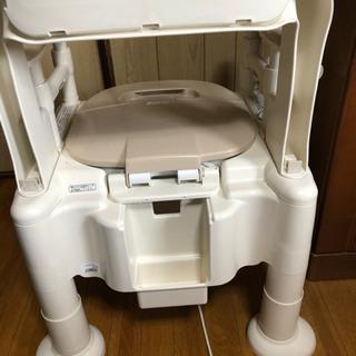 介護用トイレ  ポーダブルトイレ - 売ります・あげます
