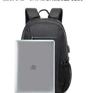 バックパック ビジネスリュック USB充電ポートとヘッドホンジャック付き - 靴/バッグ