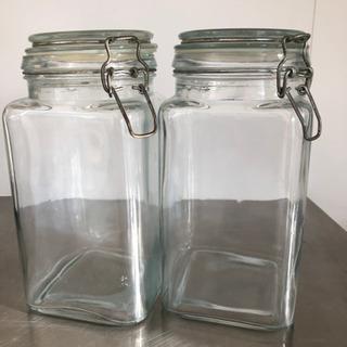 ガラス瓶 2個