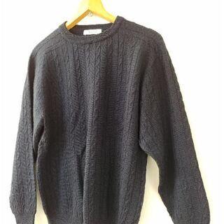 レディース セーター(紺)