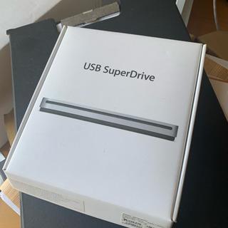Mac USB super Drive  ジャンク  DVDプレーヤー