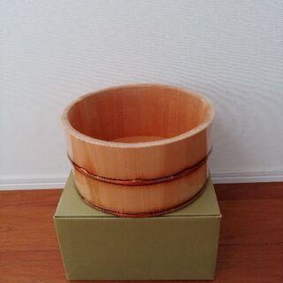 風呂桶 (木曽天然木)