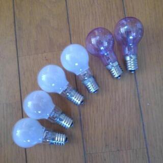 17口金ダウンライト電球1個100円