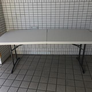 【ほぼ未使用】LIFETIME 折りたたみテーブル