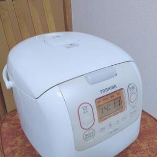 【500円】炊飯器 白米10合炊 TOSHIBA製