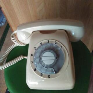 新品電話機(クリーム色)