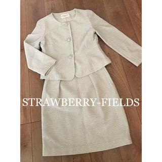 ☆STRAWBERRY-FIELDS☆ツイードスーツ  セットアップ