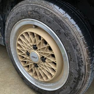 エンケイメッシュ PCD100  ファルケン夏タイヤセット