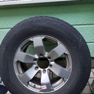 スタッドレスタイヤ4本(ホイール付)265/65R17