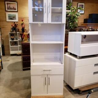 レンジ台付きミニ食器棚