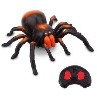 リモコンスパイダーアニマルおもちゃクモ面白い赤外線リモコン玩具い...