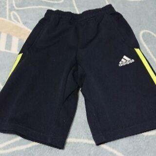 【男の子 120cm】adidas紺スポーツ用短パン