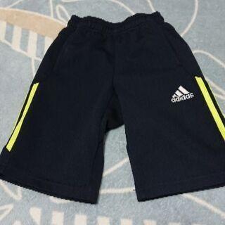 【男の子 110cm】adidas紺スポーツ用短パン