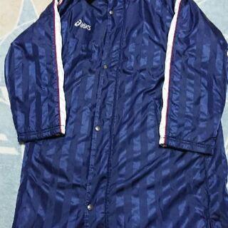 【男の子 160cm】asicsフード付き防寒ジャケット