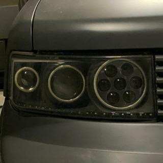 NCP31 bB加工ヘッドライト
