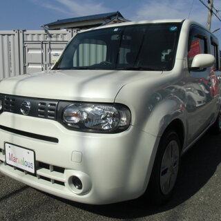 平成25年式 キューブ 車検2年付き 42万円 自動車税 消費税等込み
