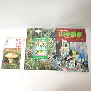 CA339 山菜讃歌 キノコ狩りガイドブック 身近な薬草ガイド ...