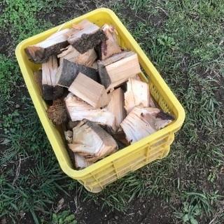 【引き取り限定】薪、桜、樫、クヌギ等の木端