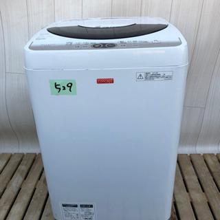 ✨😇大特価セール😇✨ 529番 SHARP✨全自動電気洗濯機⚡️...
