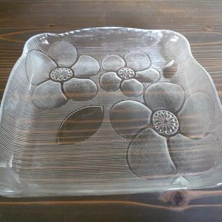 ガラス食器シリーズ3(四角大皿)